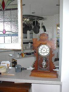 Kitchen - Ansonia kitchen clock