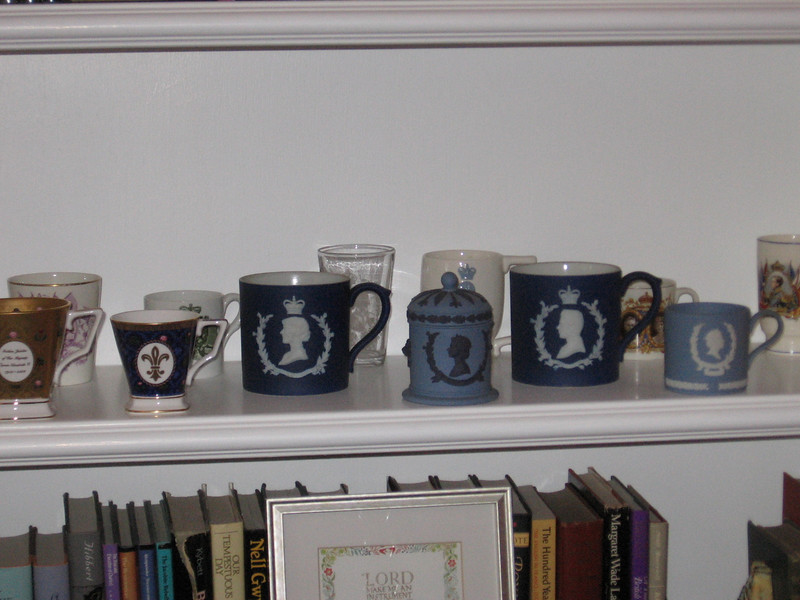 Part of Linda's collection of English coronation commemoratives