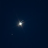 Astronomy at dacha - Jupiter & moons - series 3: star in top right = Omega2 Tau