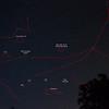 Astrophotography - Eastern sky - lower half - Andromeda, etc.