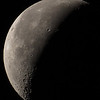 Astrophotography - moon in gibbous phase -
