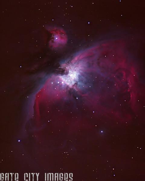 Orion Nebula 2006, 2015 a gmp