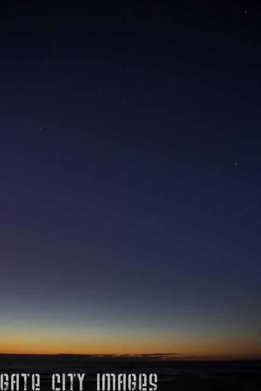 Florida Gulf sunset summer triangle -6475