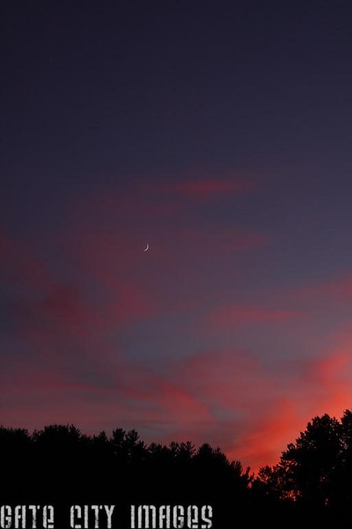IMG_0799 Jupiter, Venus, Moon sunset