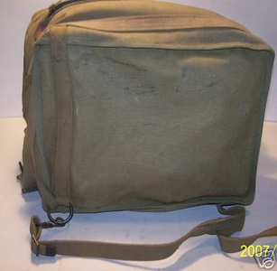 Marked Canvas Carrying Case, Type CWP 10028A.
