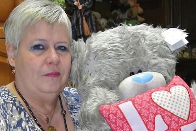 Bear 'Moja'... Gekregen met Moederdag van Swoi!...