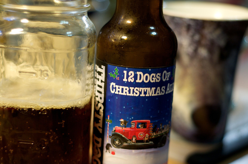 Thirsday Dog 12 Dogs of Christmas Ale