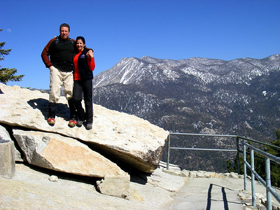 Black Mountain Fire Tower Hike, Idyllwild CA April 4, 2009