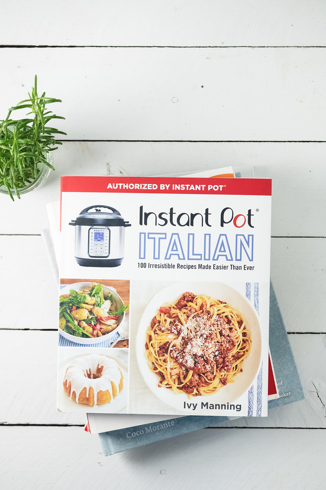 Pot of the Instant Pot Italian Cookbook