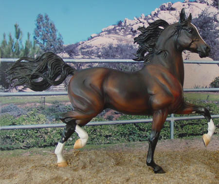Huckleberry Bey, OF resin JCP SR 1999