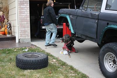 2010 Nov Bronco Floorpan Change