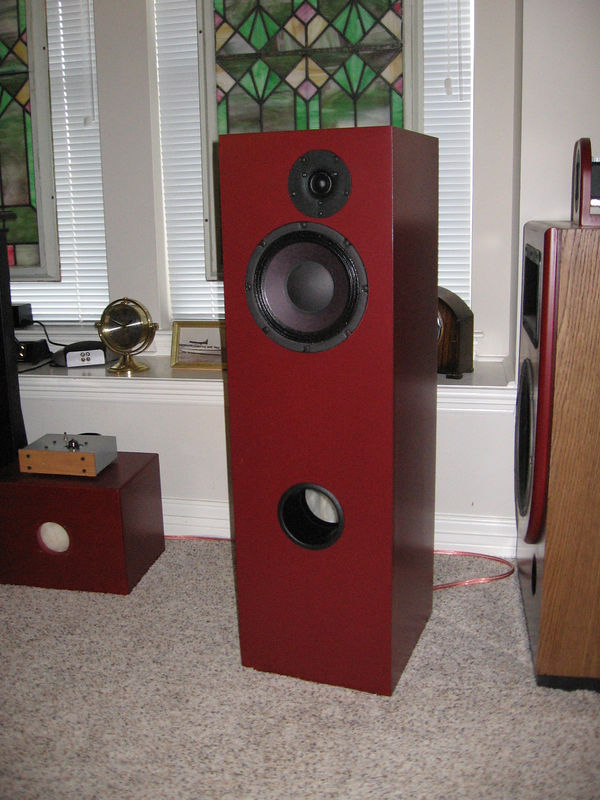 A completed speaker