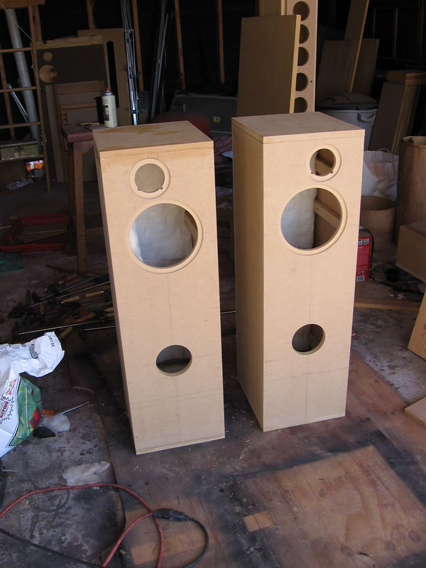 Two glued enclosures.
