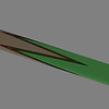 Cad drawing of 4 point full splice cue.