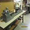 New stronger straighter lathe base