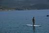 Practice surfboard near Kas Camping beach
