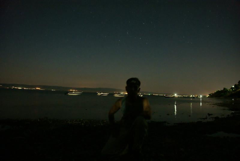 Kurukoy camp at night