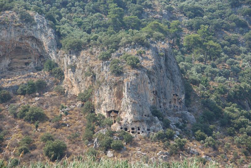 Lycian tombs near Kaunos