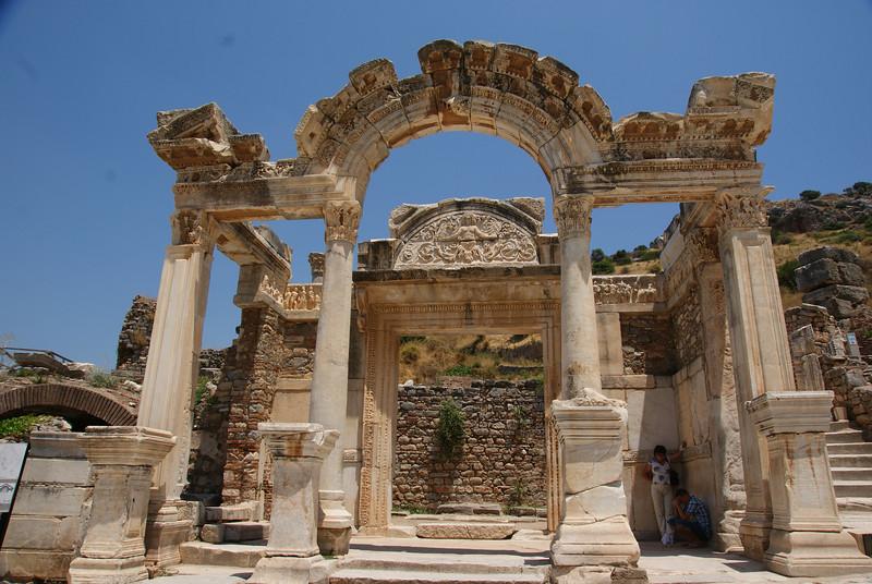 Temple of Hadrian at Ephesus