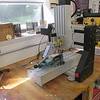 My small benchtop CNC mill did not have sufficient X axis travel to handle the 20 inch one third scale rifle.