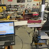 Laptop running Flashcut CNC contoller to controll the mill.