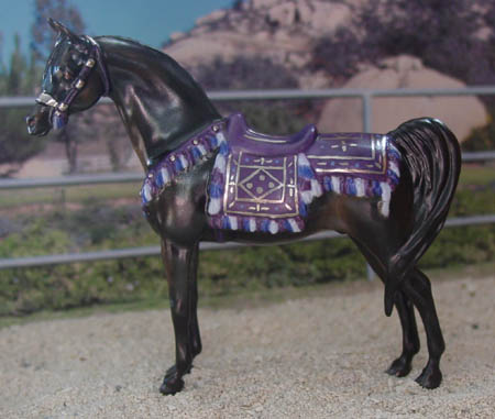 Chaney Arabian Gelding With Costume, CMG china by Animal Artistry