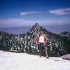 My Photos of Cornell Peak (directly behind me) earlier on the way up to Mt San Jacinto March 2004. Palm Springs and the desert down almost 10,000 ft below in the far background!
