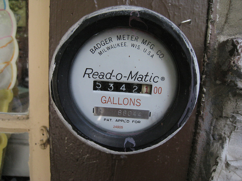 Badger Read-o-Matic meter