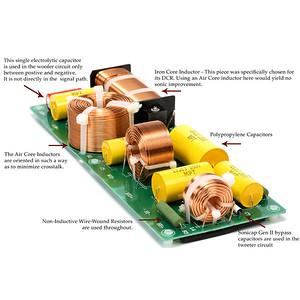 Crossover from the AV123 X-Static speaker.