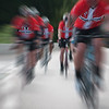 Cyclists on tour