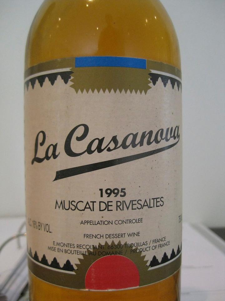Delicious Muscat wine