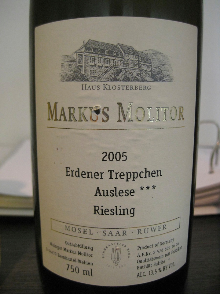 special Auslese Riesling