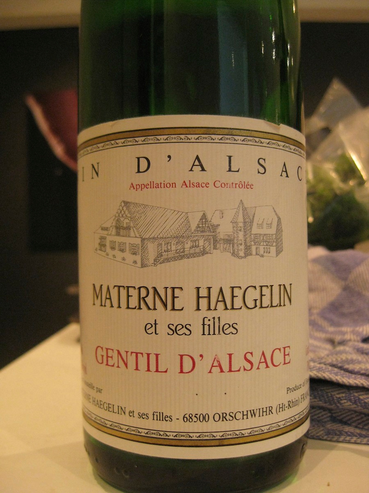 Materne Haegelin, with a gentil d'alsace