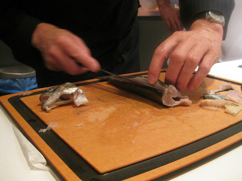 Trout filets
