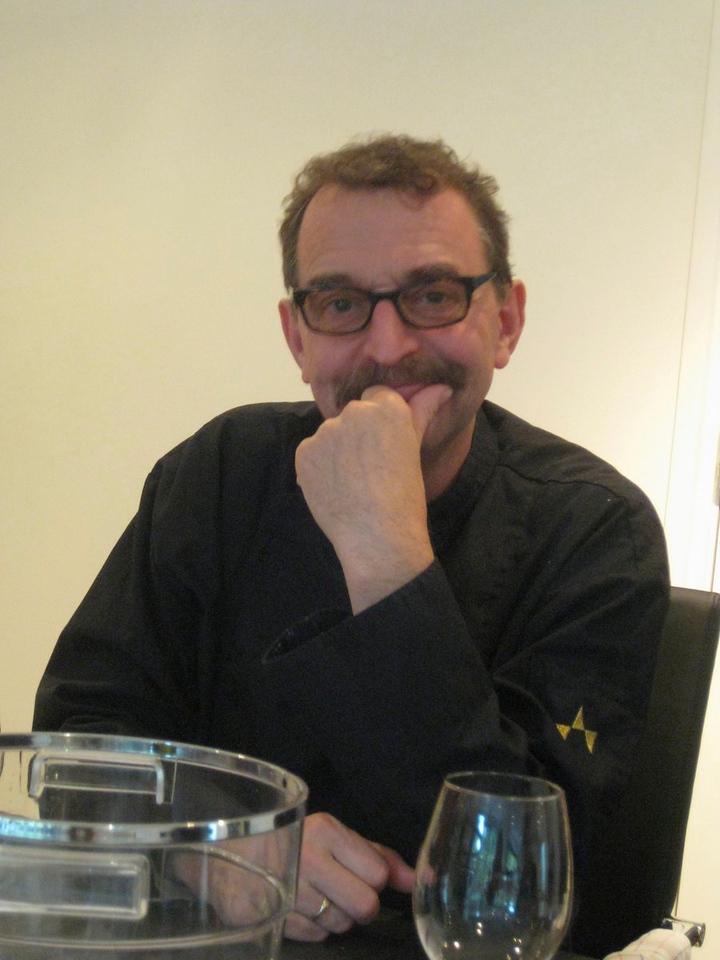 Theus de Kok, former chef of de Echoput and currently teaching there.