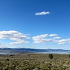 Mono lake and black island and point