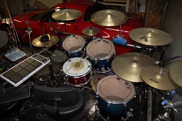 The Evolution of my Drum Kit's