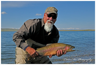 Jim at Mission lake on 5/15/10.