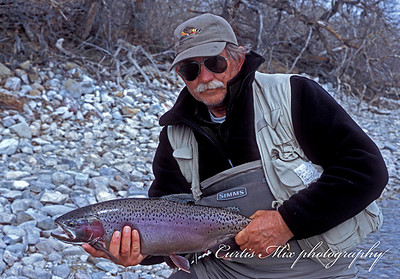 Rich Fiebelkorn with a nice rainbow.