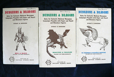 Dungeons and Dragons Books and Stuff