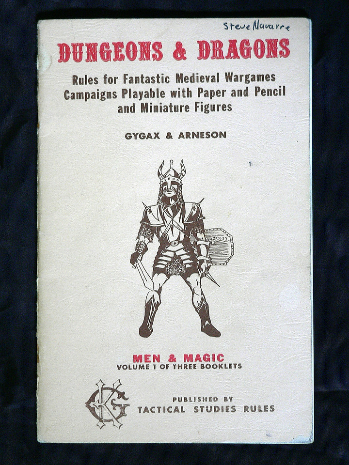 Men & Magic detailed what characters can be played, potentials, limitations, and various magic spells. 34 pages.