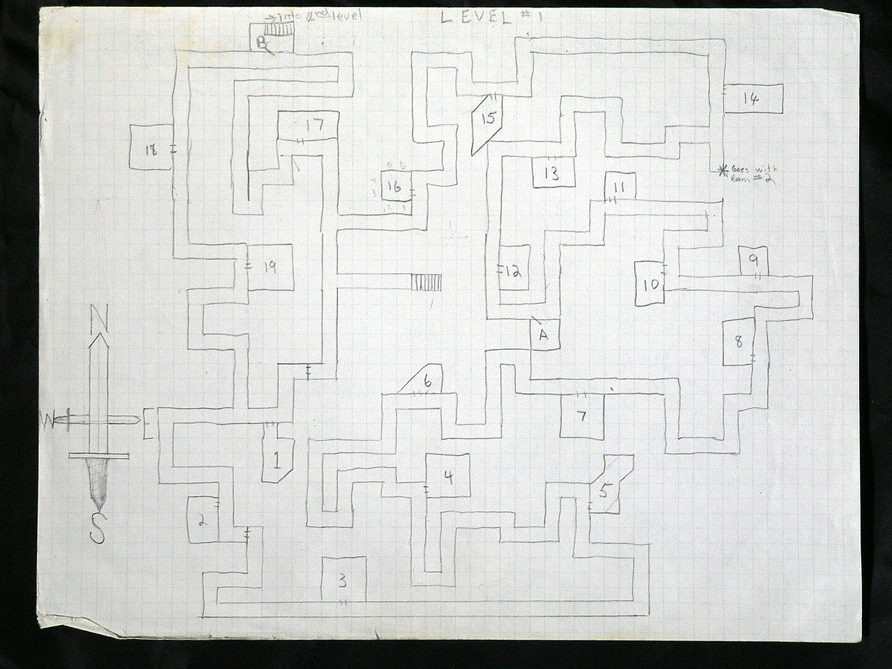 1st level of some dungeon.