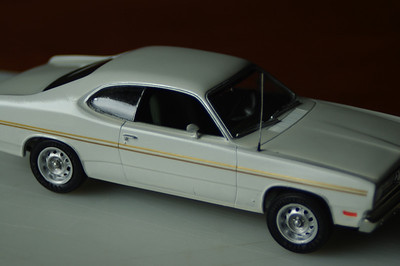 Duster 340 plastic model