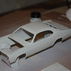 Paint color was custom mixed by me to match my memory of my first car: a 1970 white Plymouth Duster.