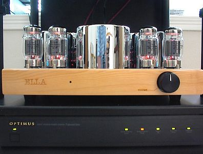 Ella KT-88 Amp With Chrome Plated Transformer Covers