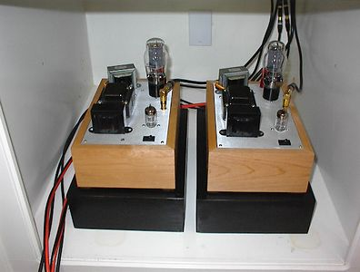 Bottlehead Paramour 2A3 Single Ended Triode amps. In some ways the best sounding of all my components.