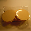 """Cream/Ivory 2"""" circle tags. Unsure of the cardstock lbs.  100 tags in this package. $4, 1 set available"""
