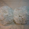 2 medium white carnation pomanders. Medium Pomanders, $3 each