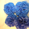 4 medium Blue Pomanders. Medium Pomanders, $3 each