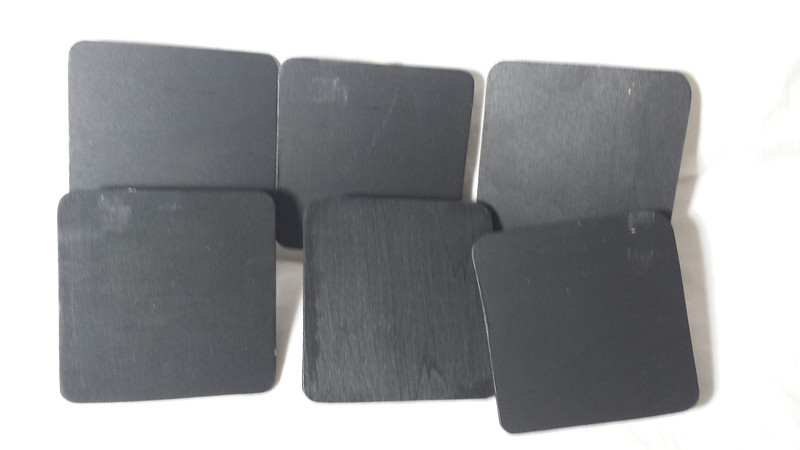 """> Large rounded square set.  6 in this set.  Measurements are 3""""x3"""".  One set available,$8"""